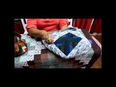 Patchwork Sem Segredos com Ana Cosentino: Aula 07 (Como colocar alça, zíper e forro na bolsa) - YouTube Colocar forro e fecho eclair em bolsa.