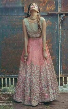 Unusual Stunning Bridal Lehenga colors for every Indian Bride Pakistani Bridal, Bridal Lehenga, Indian Bridal, Lehenga Choli, Anarkali, Lehenga Skirt, Indian Attire, Indian Wear, Pakistani Outfits