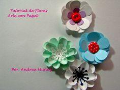 Tutorial de Flores 1 ( retro flower punch)