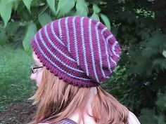Click here to download the Amelie Hat Pattern (PDF) worsted
