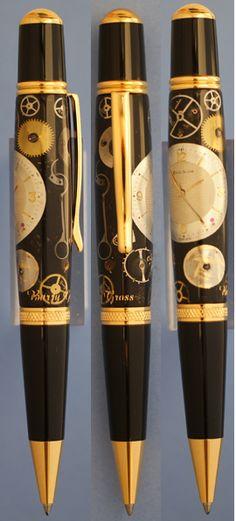 Ballpoint pen in watch design #watch, #ballpoint pen, #pen