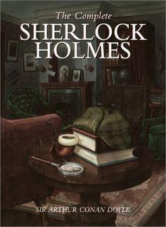 Sherlock Holmes is a classic novel of fiction investigative work. It was written by Sir Arthur Conan Doyle. The character of Sherlock Holmes. I Love Books, Great Books, Books To Read, John Watson, Detective, Sherlock Holmes Stories, Arthur Conan Doyle, Sir Arthur, Halloween Books