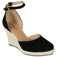 Espadrille Twin Set Maduge Preta Preto #black #shoes #loveshoes