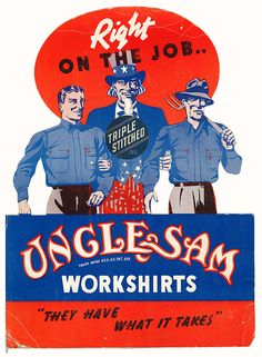 Form Follows Function VINTAGE WORKWEAR ADVERTISING ...
