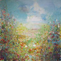 "Saatchi Online Artist Sandy Dooley; Painting, ""High Summer"" #art"
