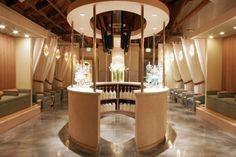 #reception #lounge #custom #commercialprojects #interiordesign #archinteriors