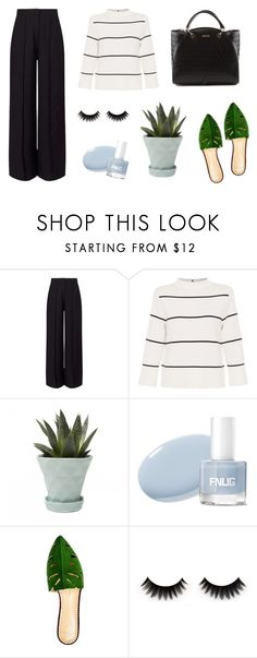 """""""Office Look"""" by sheila-guerra on Polyvore featuring moda, Miss Selfridge, L.K.Bennett, Chive e Charlotte Olympia"""