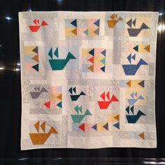 Photo from Carolyn Friedlander / Quilt market
