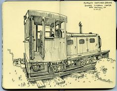 plymouth switcher engine by paul heaston, via Flickr
