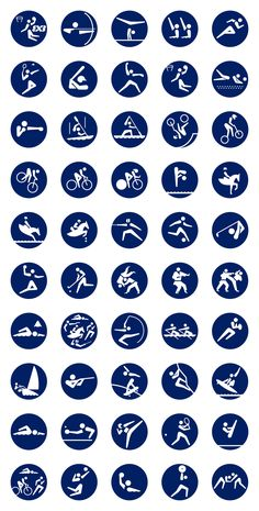 Japan on Tuesday marked 500 days to go until next year's Tokyo Olympics formally begin as the local organizing committee unveiled a set of pictograms repre Olympic Icons, Olympic Logo, Olympic Games, Olympic Sports, Tokyo Design, Tokyo Olympics, Summer Olympics, Sport Icon, Mascot Design
