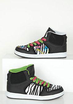 dELiAs > Adora High Top Sneaker > shoes > view all shoes Wedge Sneakers, Girls Sneakers, Best Sneakers, Sneakers Fashion, High Top Sneakers, Shoes Sneakers, Shoes Heels, Dream Shoes, Crazy Shoes