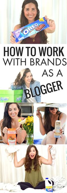 how to connect with brands, how to make money blogging, sponsored blogging, how to get stuff for free, work with brands as blogger influencer, influencer marketing