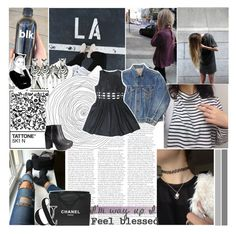 """""""✧Blessing"""" by miss-emilia ❤ liked on Polyvore featuring Chanel, H&M, women's clothing, women, female, woman, misses and juniors"""