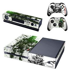 Metal gear solid v ground zeroes xbox one skin for console and controllers