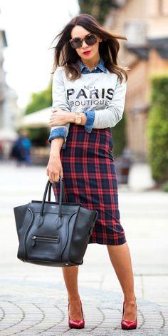 Gloria Kalil ensina os 10 mandamentos da saia lápis | Chic - Gloria Kalil: Moda, Beleza, Cultura e Comportamento