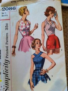 Huge Lot Vintage Sewing Patterns