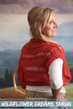 This shrug is a simple and fun pattern to make for warmer months. It's great to cover up your shoulders on a cooler summer evening or over a long sleeved shirt for an extra pop of color.