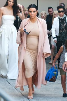 Kim Kardashian mastering yet another all-nude look.