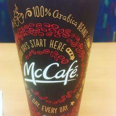 They have some killer coffee here! @mcdonalds  #imlovinit