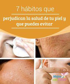 7 hábitos que perjudican la salud de tu piel y que puedes evitar  ¿Sabías que unos hábitos de sueño irregulares pueden influir directamente en el aspecto de tu cutis? Pueden favorecer la aparición de ojeras, arrugas e hinchazón debajo de los ojos