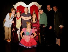 The Cast of the 2015 Edinburgh Festival Fringe production of Princess Pumpalot: The Farting Princess pictured with Director Liam Rudden. #Fart2015