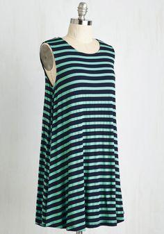 My Stride in Joy Dress in Stripes | Mod Retro Vintage Dresses | ModCloth.com