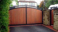 Wood Driveway Gates Designs | Wood-Driveway-Gates5
