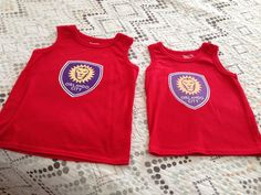 "Look at what one of our fans made for their Little Lion Fans! ""For the little Orlando City Soccer Club fans in our house. Orlando City, Lion, Fans, Soccer, Club, Tank Tops, Projects, House, Women"