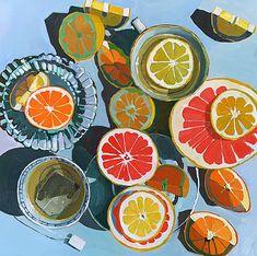 Kunst Inspo, Art Inspo, Art And Illustration, Modern Art, Contemporary Art, Franz Marc, Graphisches Design, Fruit Art, Art Graphique
