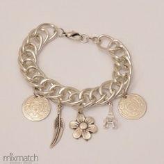 silver Fetters-b Chain Bracelets, Necklaces, Silver, Jewelry, Jewlery, Jewerly, Schmuck, Jewels, Jewelery