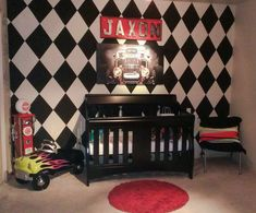 Neat boys nursery