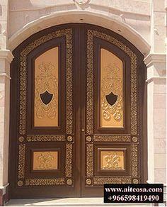 ابواب | Riyadh | شركة التجارة العالمية المتقدمة Aitco Main Gate, Weird, Doors, Unique, Frame, Decorative Metal, Beautiful, Home Decor, Picture Frame