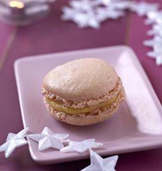 Macarons à la mangue, la recette d'Ôdélices : retrouvez les ingrédients, la préparation, des recettes similaires et des photos qui donnent envie !