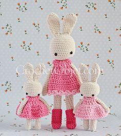 Pretty In Pink Baby Bunny Dress – CrochetObjet by MoMalron