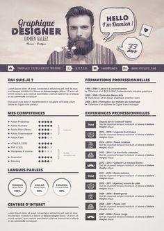 Tutoriel special graphiste - Créer un CV graphique avec Photoshop pour réussir vos entretiens d'embauches !: