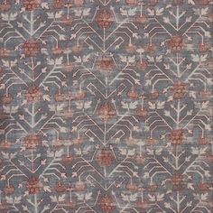 Zak + Fox's Khotan Fabrics: Khotan is named after a rug of that name