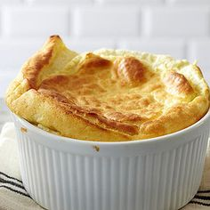 Roundup of the best December recipes at better homes and gardens. Don't miss this easy Cornmeal Spoon Bread and all the rest. Spoon Bread, Biscuit Bread, Biscuit Recipe, Souffle Dish, Cheese Souffle, Thing 1, Banana Bread Recipes, Cornmeal Recipes, Bread Rolls