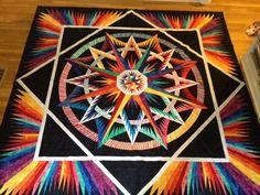 Mariner's Compass Ginny by judel.buls, via Flickr