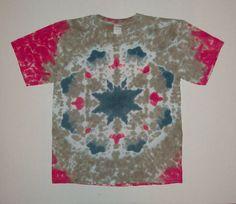Super Nova - Tie Dye Mandala T-Shirt - Adult Large