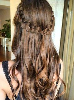 Bunad Hair