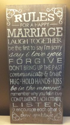 Marriage Sign – Kimber Creations