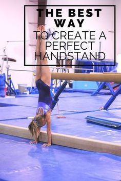 The best way to create a perfect handstand - great vault drills Gymnastics Handstand, Gymnastics Lessons, Gymnastics Room, Preschool Gymnastics, Gymnastics Tricks, Tumbling Gymnastics, Gymnastics Flexibility, Gymnastics Coaching, Gymnastics Quotes