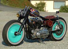 Photo of 1984 Harley Sportster Ironhead Bobber named Stupida by Aldo of AQG.