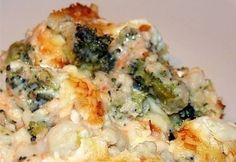 Extrán rakott brokkoli -gluténmentes Quiche, Risotto, Macaroni And Cheese, Food And Drink, Dinner Recipes, Gluten Free, Healthy Recipes, Chicken, Vegetables