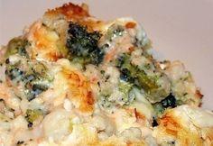 Extrán rakott brokkoli -gluténmentes