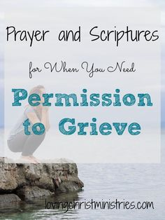 We sometimes make grief harder by beating ourselves up when we can't get over it, when we feel our faith should be stronger, and when our grief comes from losing someone we deem as 'not as important' as someone else. But God gives us permission to grieve as we need to and promises we'll find comfort in Him forever. #grief #griefsupport #bereavement #faith #christianity #scripture #prayer #encouragement