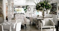 Villa Blanca #restaurant #decor