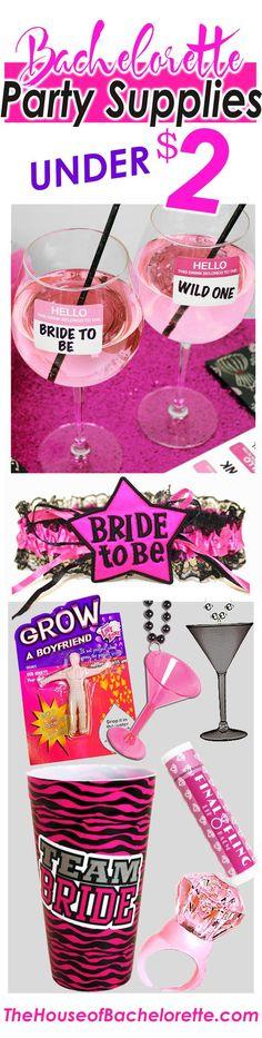 Bachelorette Party Favors, Bachelorette Decorations & more all under $2