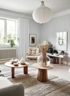 Cool grey home with a warm touch - via Coco Lapine Design blog