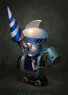 Character Design by Vinh Pham, via Behance ★ Find more at http://www.pinterest.com/competing/